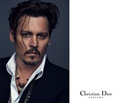 #JohnnyDepp will be the new face for a new #Dior men fragrance ! © #NathanielGoldberg
