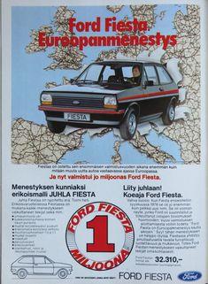 Paivan automainos Ford Fiesta Tekniikan Maailma 7 1979 Kuva CvB Nostalgia, German, Ads, Deutsch, German Language