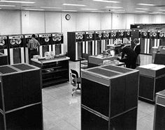 There were two ways to interact with a mainframe. The first was called time sharing because the computer gave each user a tiny sliver of time in a round-robin fashion. Perhaps 100 users would be simultaneously logged on, each typing on a Teletype.