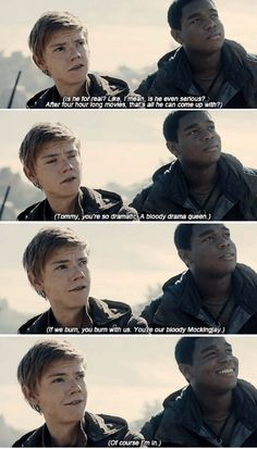 Thomas: I´m gonna kill Ava Paige - Newt's real thoughts. (What do you mean that's not how it went?)
