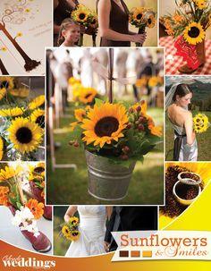 Sunflower Wedding Decorations | ... Wedding Ideas & Inspiration | Denver – Mountains – Western Slope