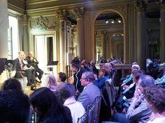 La presentazione dell'edizione estiva 2015 del Festival Dino Ciani a #Parigi.