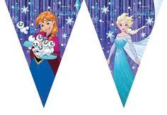 Frozen Snowflakes- lippubanderolli