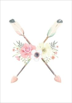 This beautiful pastel 'Flower & Arrows' print is the perfect addition to your little girls room or nursery! This print is available in 4 sizes: A4 Print - 210 x 297mm A3 Print - 297 x 420mm A2 Print - 420 x 594mm A1 Print - 594 x 841mm Allprints are printed on 250gsm photo quality gloss white stock. Ginger Monkey