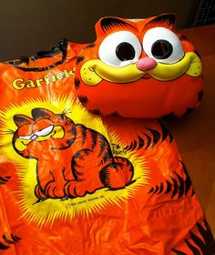 Ben Cooper Garfield Halloween Costume~~