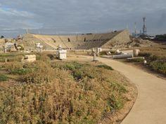 Caesarea, Theatre. Between Tel Avivi & Haifa on the Israel coast.