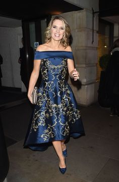 Charlotte Hawkins, Stunningly Beautiful, Strapless Dress, Formal, Dresses, Style, Twitter, Fashion, Strapless Gown