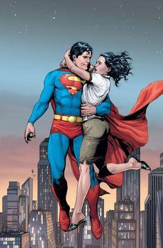 Superman & Lois Lane, Comic Book Art