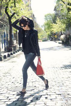 By Gala Gonzalez Gala Gonzalez, Spring Outfits, Winter Outfits, Estilo Fashion, Street Chic, Street Smart, Stylish Outfits, Style Me, Rock Style