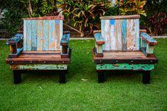 Twin Cloud Chairs by Gazwareen