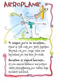 45 Printable Children's Yoga Cards to Download - For parents who want to share yoga with their kids