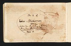 Liber Studiorum - Book Design Comments by JMW Turner (Tate)