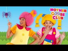 Itsy Bitsy Spider Time Full Episode - Mother Goose Club Nursery Rhymes- Mother Goose Club