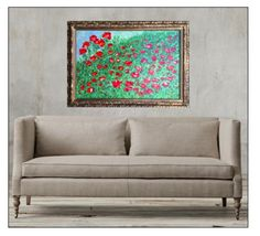 """Title: """"Poppies"""" by ZsaZsa Bellagio"""
