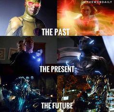The flash reverse flash zoom and savatar