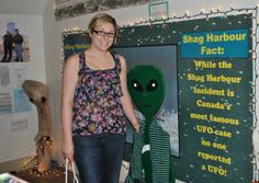 Shag Harbour UFO Museum - learn all about the only Canadian Government recognized UFO sighting! An experience you won't find anywhere else!  Shag Harbour, NS