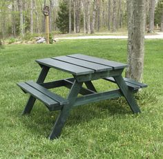 Child Size Picnic Table. Plans On Ana White.com. Very Inexpensive And