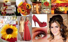 Sunflowers wedding theme