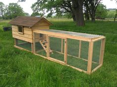 long and low run. Perfect for quail! Raising Quail, Quails, Gable Roof, Nesting Boxes, Red Barns, Chicken Coops, Outdoor Furniture, Outdoor Decor, Country Living