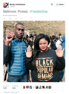50 Social Media Accounts Agitating In Ferguson Also Active In Baltimore ➠ Video