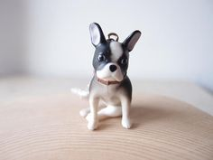 Cute Black Bulldog Necklace by Openspring on Etsy Best Wedding Gifts, Sparrows, Peace And Love, Boston Terrier, Cool Stuff, Stuff To Buy, Amy, Buy And Sell, Dogs
