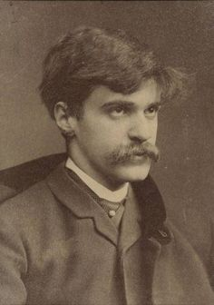 Alfred Stieglitz, revolutionary photographer who brought Modern Art to America and  was the lover and husband of Georgia O'Keeffe, whose art he deeply admired and displayed in his gallery.