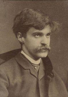 A young Alfred Stieglitz