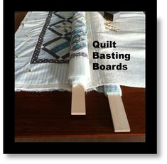This could save your back and knees. Don't reject this just because it's different. Take a little time to really think about it. Using boards to control the backing and top whileyou sandwich the batting between and use large stitches tobast everything together is different. Wonder how well itmight work for thickerbatting. Source: ThePatchworkBoxTips  …