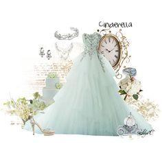 "Tendance Robe De Mariée 2017/ 2018 : ""Disney Cinderella Wedding"" by rubytyra on Polyvore..."