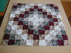 A Small Quilt Trip Around The World This project was born as a solution to a challenge for June by a quilt group on Facebook ca...