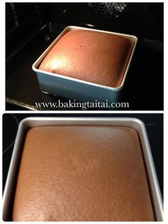 My son loves eating chocolate cake especially this light and cottony one! I have baked this cake for him to celebrate his admission to the...