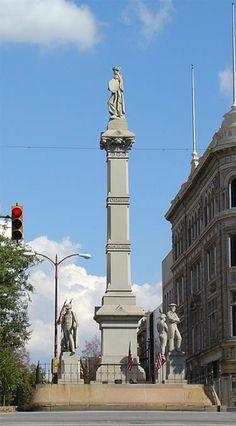 Lancaster PA Penn Square Monument