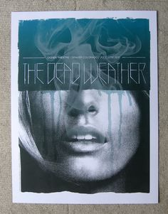 OMG Posters! » Archive » The Dead Weather Poster by Alan Hynes