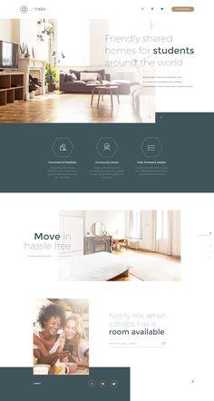 Web Design Examples, Web Ui Design, Layout Design, Blog Website Design, Hotel Website Design, Website Layout, Website Ideas, Maquette Site Web, Beautiful Website Design