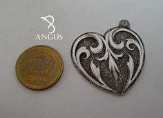 Enamel, Personalized Items, Heart, Silver, Accessories, Vitreous Enamel, Enamels, Tooth Enamel, Hearts