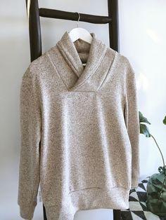 van miek: Zilvergrijs naaien - trui
