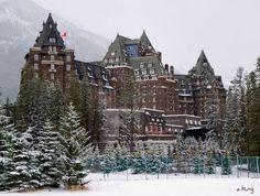 Banff Springs Hotel, Banff, Alberta