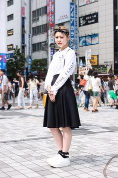 【ストリートスナップ】@Street of Shinjuku, Tokyo Fashionsnap.com | Fashionsnap.com