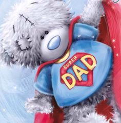 SuperDad and SuperDaughter- one of our special memories