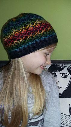Image_medium Mandala, Beanie, Rainbow, Medium, Hats, Image, Fashion, Rain Bow, Moda