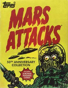 Amazon | Mars Attacks (Topps) | Zina Saunders, The Topps Company, Len Brown | Non-Sports Cards