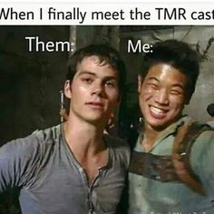 Minho is every fangirl Maze Runner Memes, Maze Runner Cast, Maze Runner The Scorch, Maze Runner Thomas, Maze Runner Movie, Thomas Brodie Sangster, Dylan O'brien, Maze Runner Trilogy, The Scorch Trials