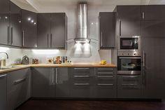 Gray Modern Kitchen