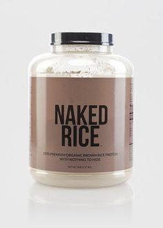 Organic Brown Rice Protein Powder | Naked Rice - 5lb