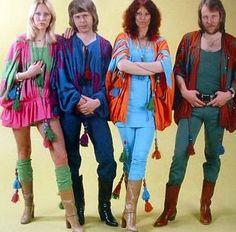 Grupo ABBA anos 70