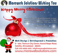 Moreweb Solutions Wishing you and your family a very Merry Christmas. May this joyful season greet you with health and happiness. Merry Christmas