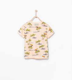 Image 1 of Tropical T-shirt from Zara