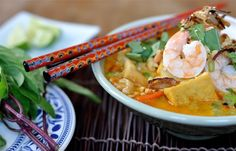 Fat of the Land: Laksa: One Word, One Pot, One Heckuva Meal