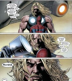 Throll, God of Thunder (vs Trollderman, a boy with great power and even greater responsibility)