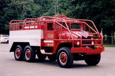 military fire trucks | 12 - 1952 GMC Military 2 1/2 ton Brush Truck - Puchased in fall ...